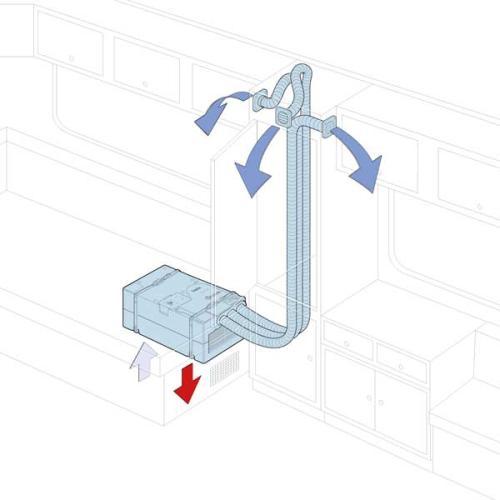 Truma Saphir cold air distribution - comfort solution